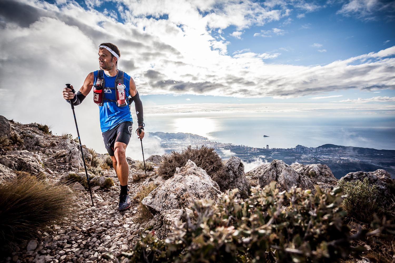 Fotografía deportiva trail Desafio Lurbel 2014