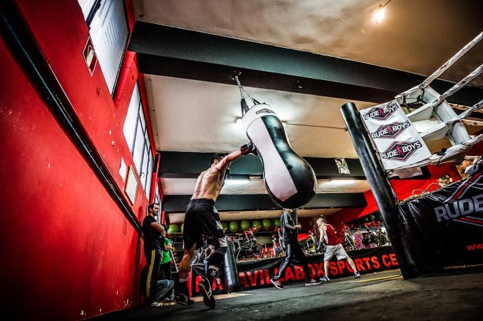 Entrenamiento boxing Maravilla Martinez