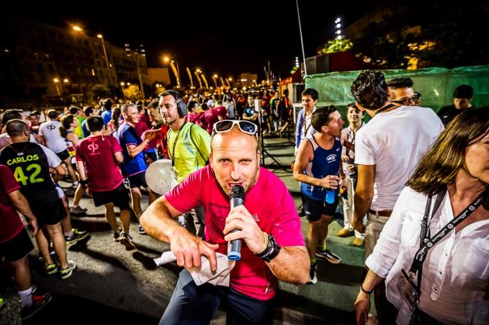 Fotografia deportiva de running en la 15K Nocturna de Valencia 2014