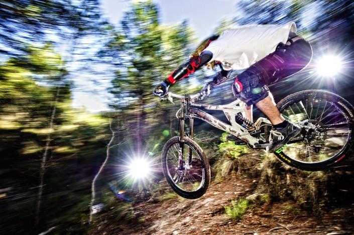 Fotografia deportiva downhill