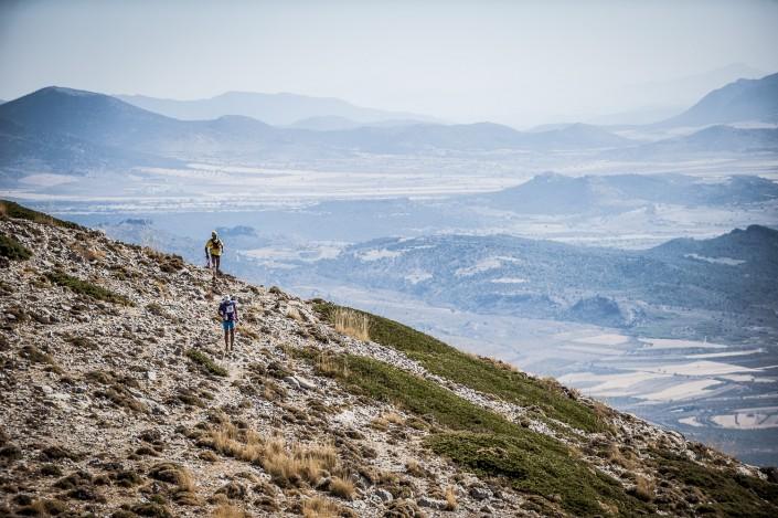 Fotografía deportiva en el trail Desafio Lurbel Sagra Skyrace 2014