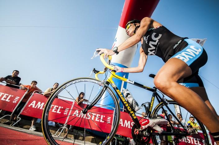 Fotografia deportiva del Triatlon de Valencia 2012