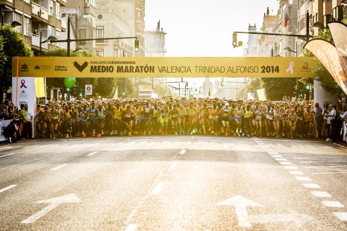 Media Maratón Valencia Trinidad Alfonso 2014